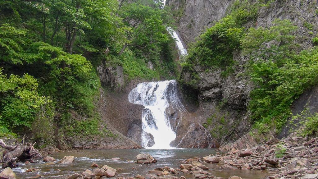 滝色|松見の滝